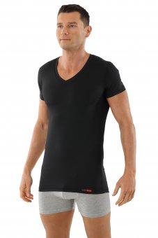 Maglietta Intima Tessuto Tecnico Coolmax nero