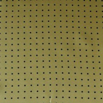 scialle da uomo pura seta, giallo con puntini neri, disegno 200286