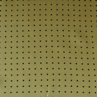 plastron, giallo con puntini neri, disegno 200286