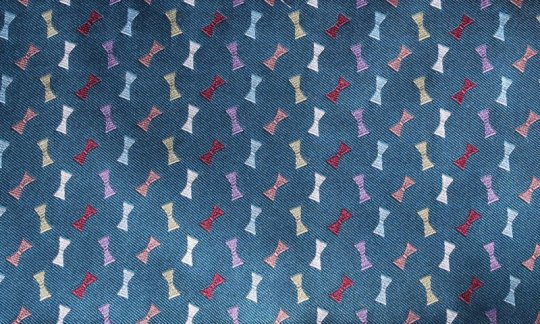 fazzoletto da taschino turchese - motivi, disegno 200001
