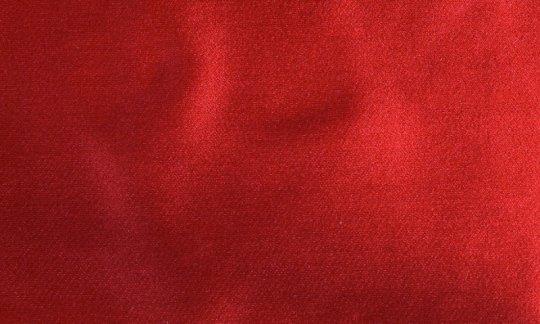 cravatta rosso - tinta unita, disegno 210045