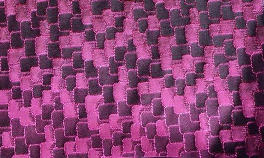 scialle pura seta rosso vino, ametista - tonalità simili, disegno 200036