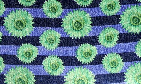 cravatta sciarpa verde, azzurro - motivi, disegno 200042