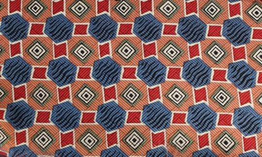 fascia da smoking rosso, verde, azzurro, bianco, rosa - fantasia, disegno 200055