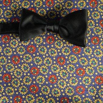 farfalla-papillon rosso, oro, azzurro, ametista - fantasia, disegno 200070