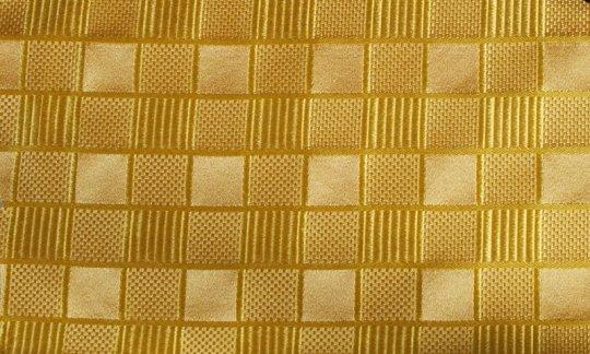 fazzoletto da taschino giallo, oro - tonalità simili, disegno 200078