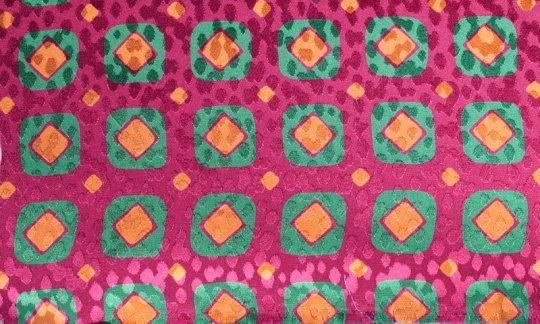 cravatta rosso, verde, oro, arancione, rosso vino - quadretti, disegno 200082