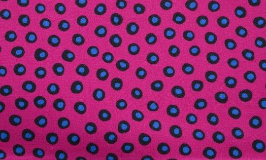 plastron azzurro, nero, rosso vino - puntini, disegno 200084