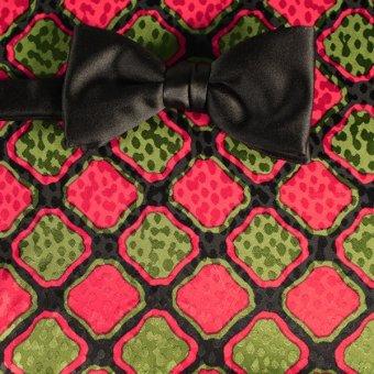 farfalla-papillon rosso, verde, nero - fantasia, disegno 200086