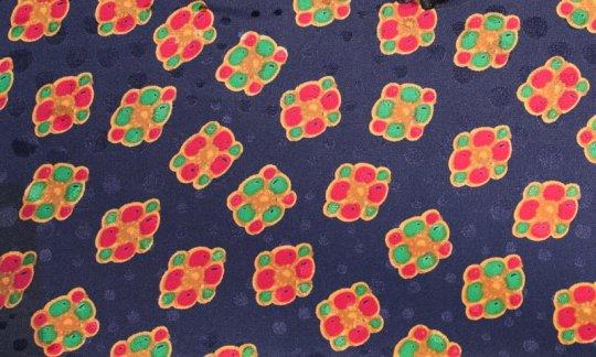 fazzoletto da taschino rosso, giallo, verde, azzurro, blu marino - quadretti, disegno 200089