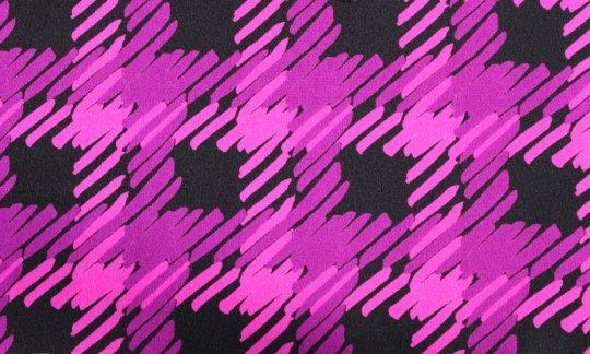 cravatta nero, rosso vino, ametista - fantasia, disegno 200095