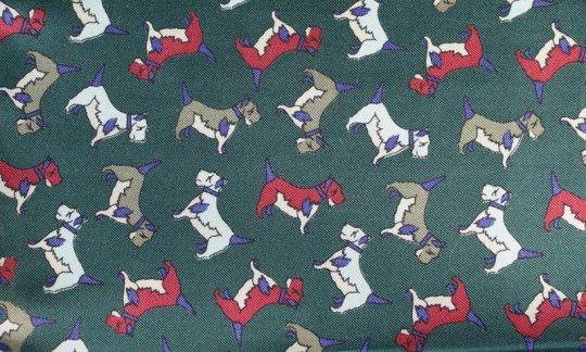 cravatta sciarpa verde - motivi, disegno 200122