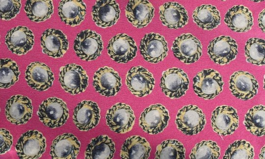scialle pura seta giallo, ametista, panna - motivi, disegno 200132