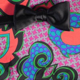 farfalla-papillon bianco, arancione, rosso vino, grigio - fantasia, disegno 200143