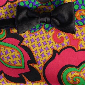 farfalla-papillon rosso, giallo, verde, azzurro, nero, ametista - fantasia, disegno 200144