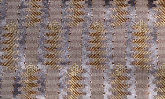 fazzoletto da taschino argento, oro - fantasia, disegno 200161