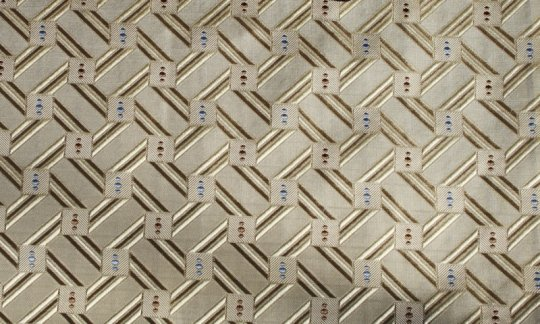 plastron oro - quadretti, disegno 200163