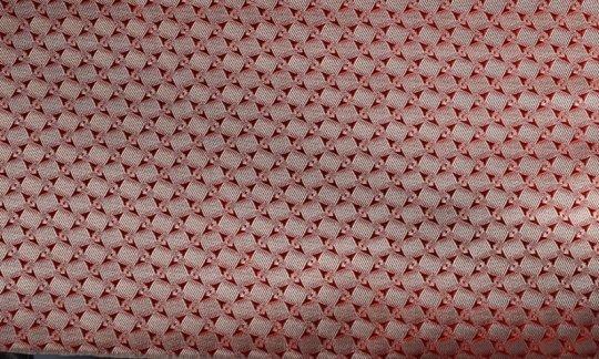 fazzoletto da taschino rosso, panna, terracotta - quadretti, disegno 200185