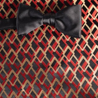 farfalla-papillon nero, rosso, oro - fantasia, disegno 200187