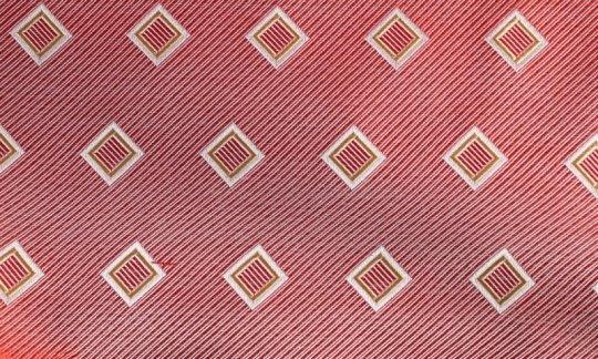 fascia da smoking rosso, giallo, argento, bianco - quadretti, disegno 200192