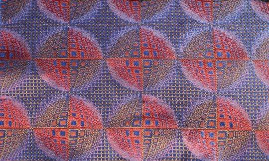 fascia da smoking rosso, azzurro, rosso vino - fantasia, disegno 200207