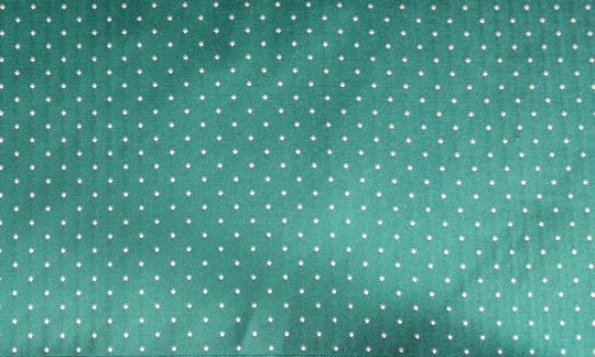 fazzoletto da taschino verde, argento, turchese - puntini, disegno 200220