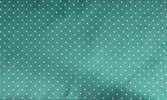 plastron verde, argento, turchese - puntini, disegno 200220