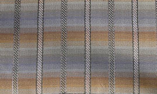 fascia da smoking argento, oro - righe, disegno 200233