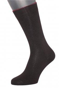 Calzini invernali in cotone cashmere nero