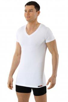 Maglietta Intima Tessuto Tecnico Coolmax Bianco