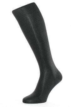 Calzettoni eleganti pura seta nero