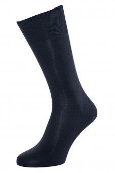 Calzini seta naturale blu marino