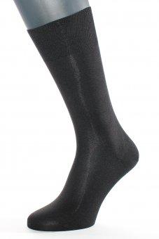 Calzini seta naturale nero