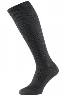 Calze per viaggio - calze elastiche a compressione graduata - antracite melange