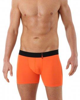 Boxer Shorts Microfibra Arancione